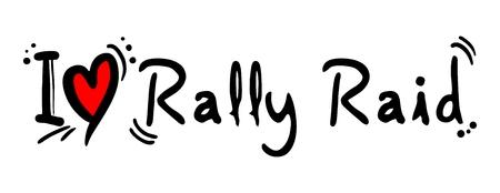 rallying: Rally Raid love