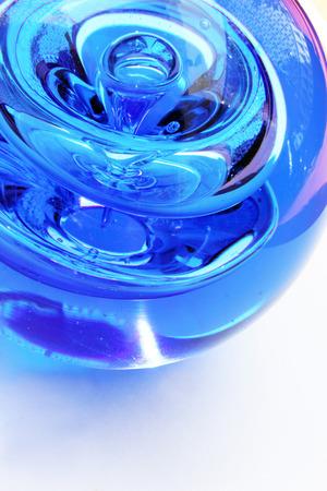 dazzlingly: Crystal blue
