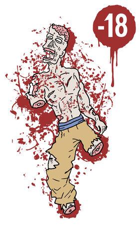 sangre derramada: Contenido Adul s�mbolo sangre derramada