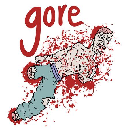 gore: Very gore advise Illustration