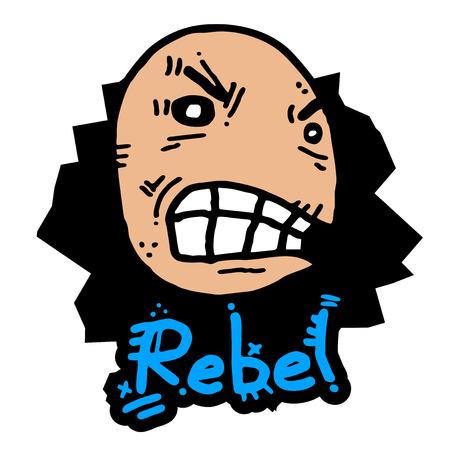 annoyance: Rebel expression