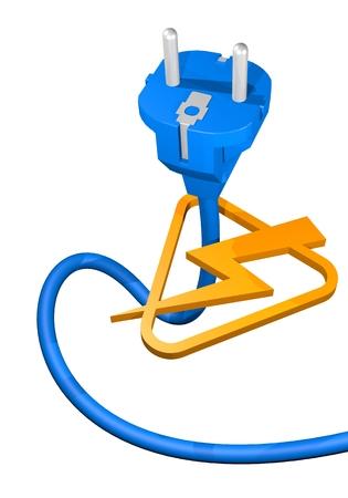 Power energy symbol photo