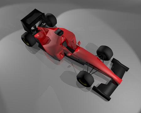 b w: Red car