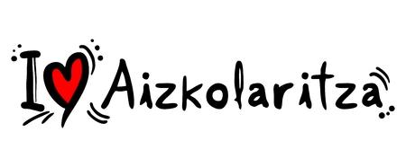 cut logs: Aizkolaritza love