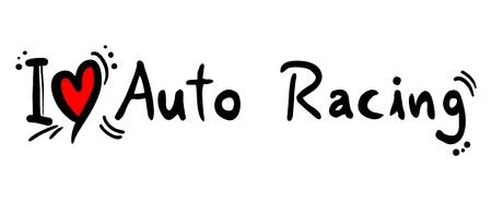 crave: Auto Racing love