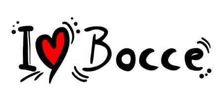 bocce: Bocce love