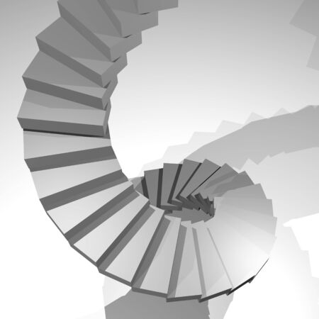 tiers: Snail stair