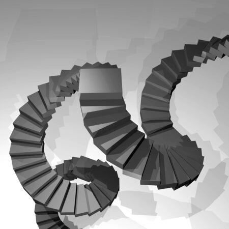 rungs: Form stair