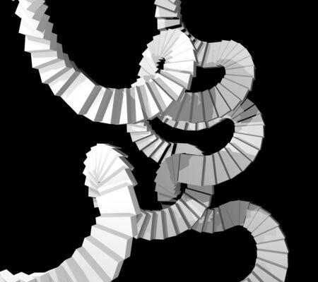 rungs: Rare stair