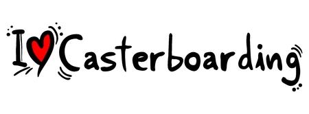 crave: Casterboarding love Illustration