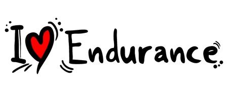 endurance: Endurance love
