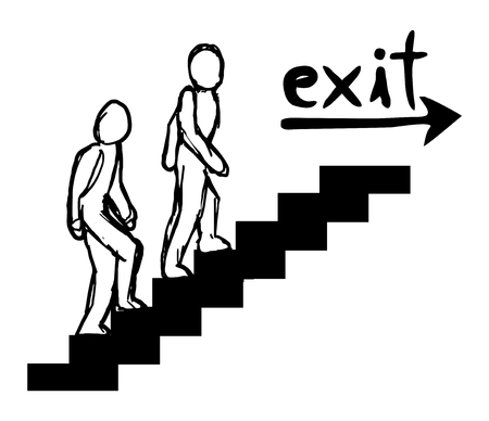 Exit message Vector