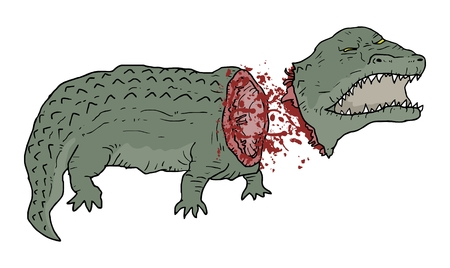 choking: Gore reptile