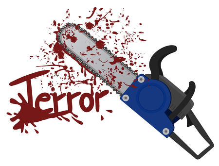 Terror message Vector
