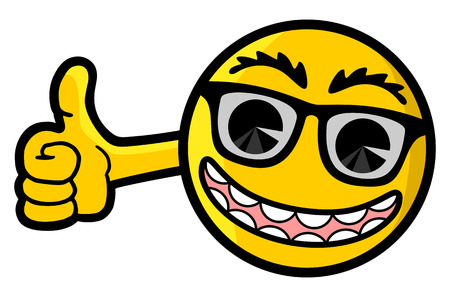 Happy puppet