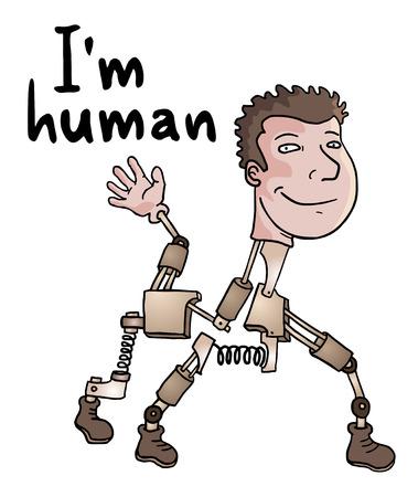 Robot message Vector