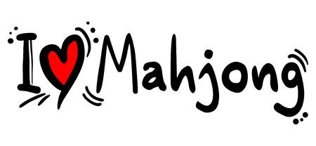 Mahjong love
