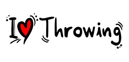 throwing: Throwing love