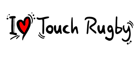 crave: Touch rugby love Illustration