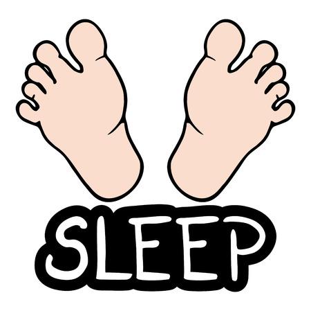 siesta: Sleep foot