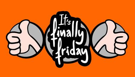 fin de semana: Feliz Viernes