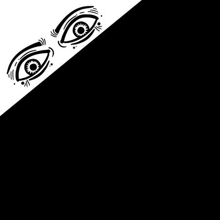 Corner eyes
