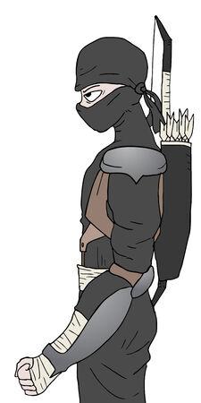 assassin: Black ninja
