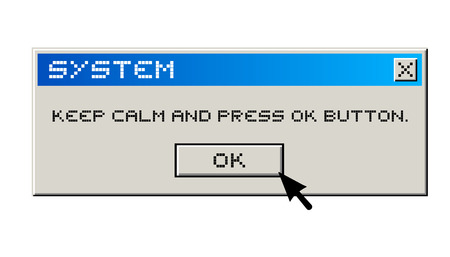 computer message: Computer message Illustration