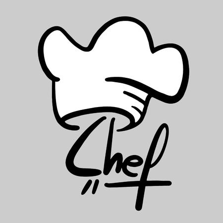 gorro chef: Chef s�mbolo