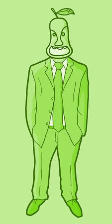 exterminate: Nautre fashion man