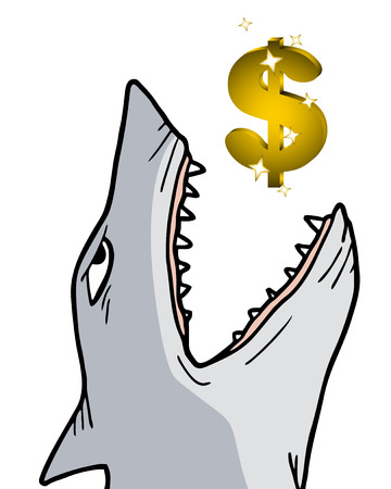 rip off: Shark dollar