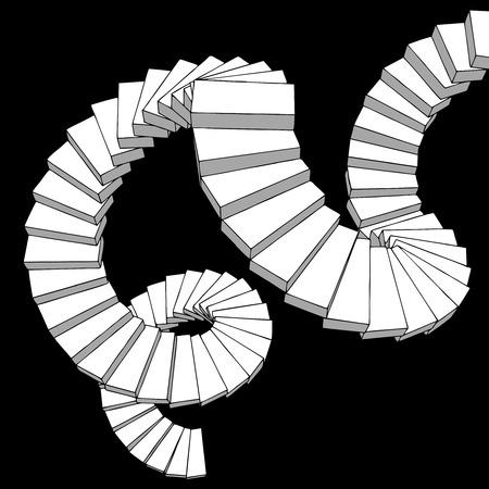 attainment: Fantasy stairs
