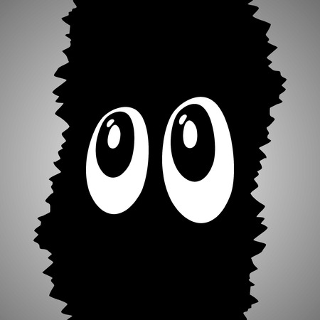 menacing: Mystery eyes