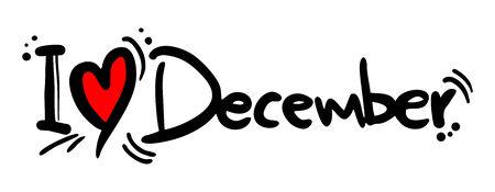 in december: December love
