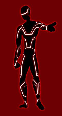 villain: Future hero vector