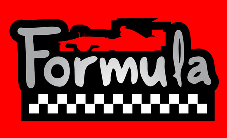 formula car: Formula car symbol Illustration