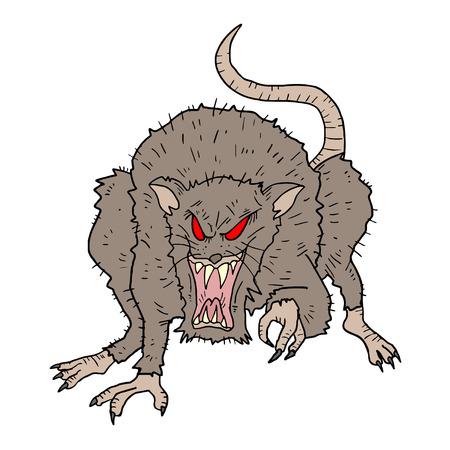 rata caricatura: Rata Rebelde