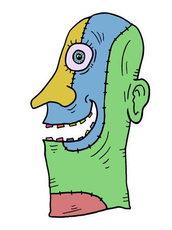Imaginative color mask