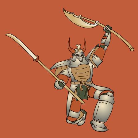 assassin: Shogun vector illustration