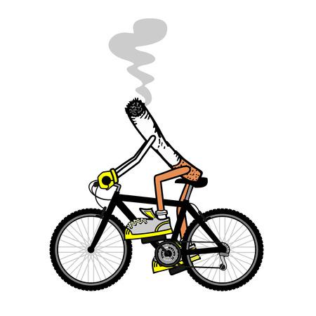 velodrome: Cigarette sport Illustration