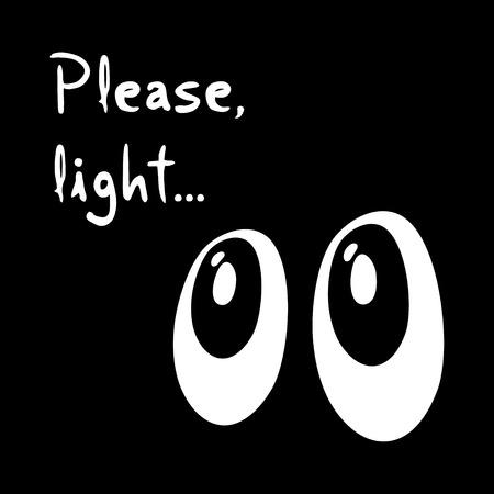 obscurity: Dark eyes