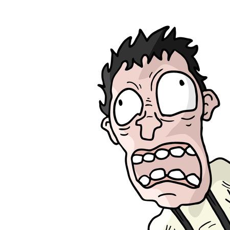 poisoned: cry man Illustration
