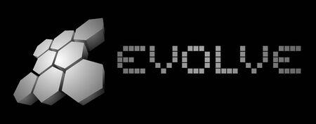evoluer: Evolve ic�ne