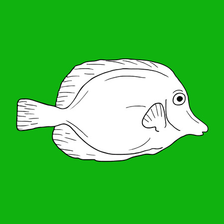 salmon fishery: Green fish
