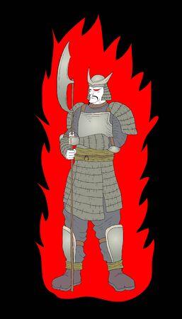 Evil soldier