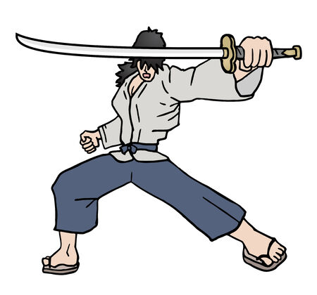 sicario: Katana samurai