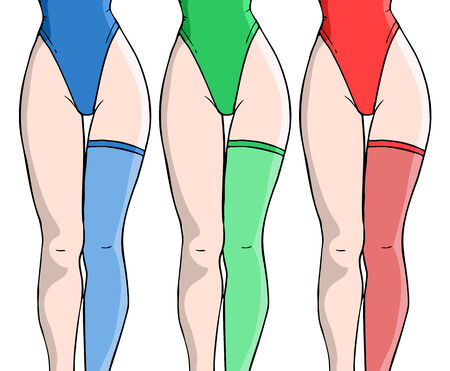 Female lingerie Stock Vector - 35315550