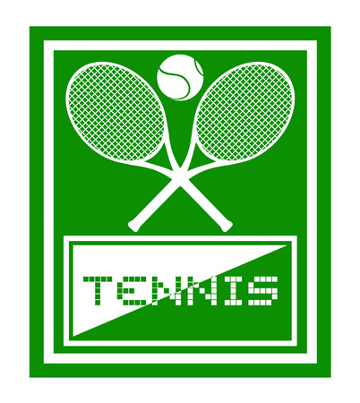 raquet: Tennis sport Illustration