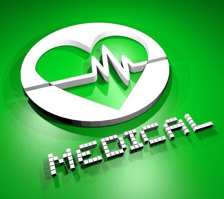 disease patients: Medical symbol
