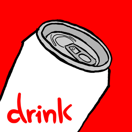 beer can: Drink can vector